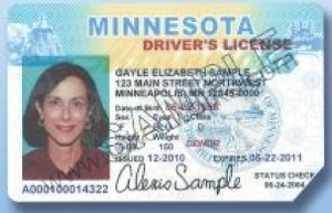 Minnesota License Invalid